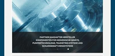 Rudolf Huber GmbH – Präzisionsmechanik, online