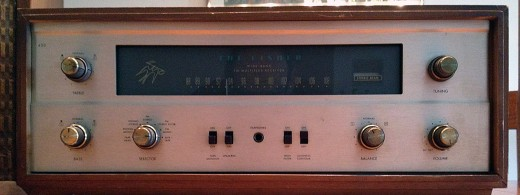 The Fisher Model 400 FM Stereo Receiver