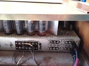 The Fisher Model 400 Stereo Receiver - Connections