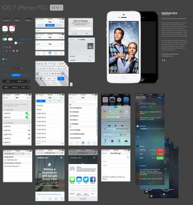 iOS 7 GUI by Teehan+Lax iPhone beta